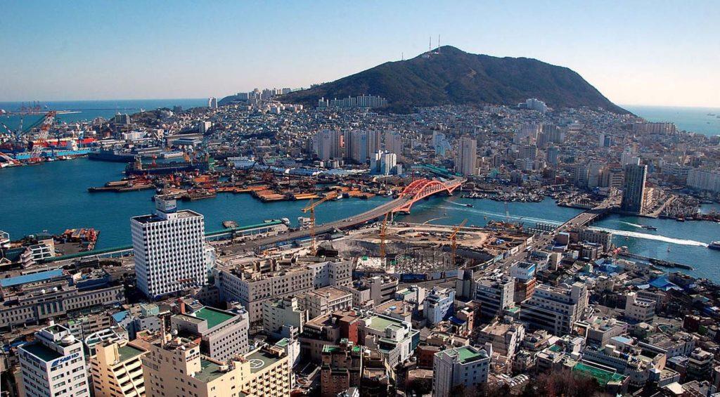 Busan et son port