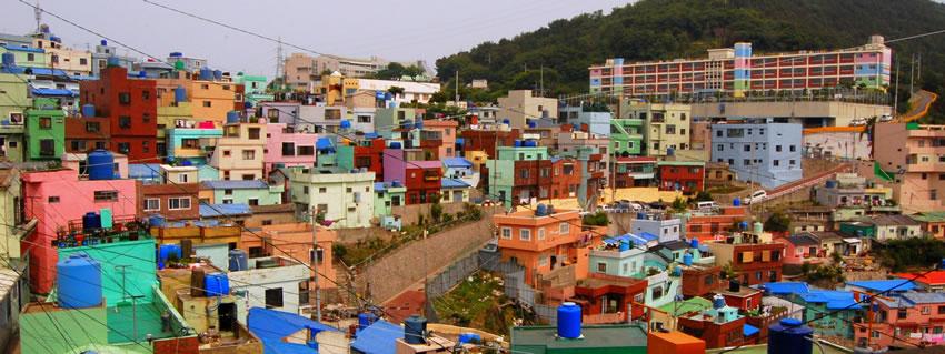 Gamcheon Culture Village ©DR