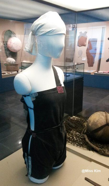 Tenue de plongée en coton