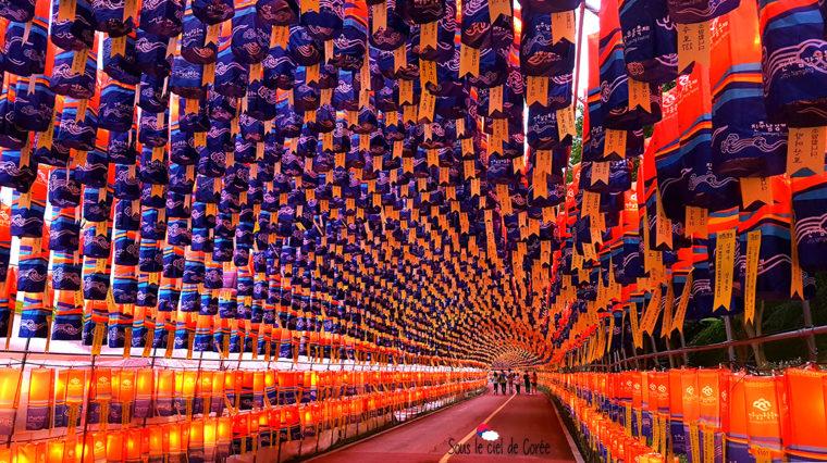 festival des lumières de Jinju