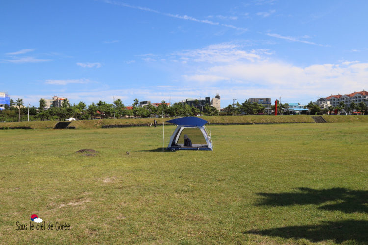 cmaping plage hamdeok beach