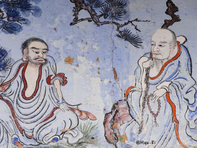 bongeunsa-temple-peinture-seoul-coree-du-sud