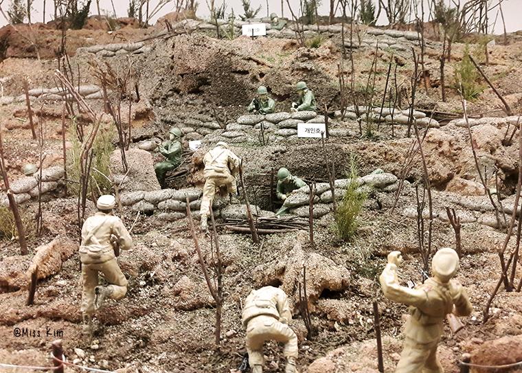 maquette guerre de coree