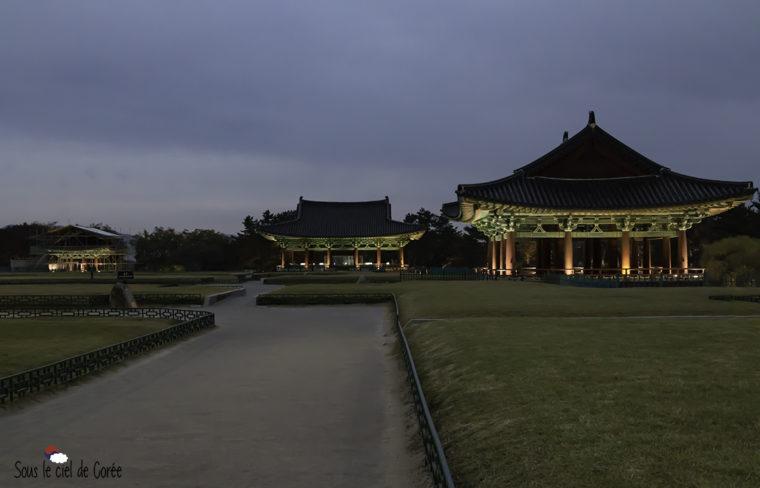 pavillons coréens du palais Donggung