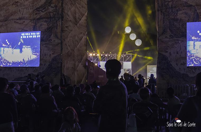 cérémonie d'ouverture du festival culturel de Suwon