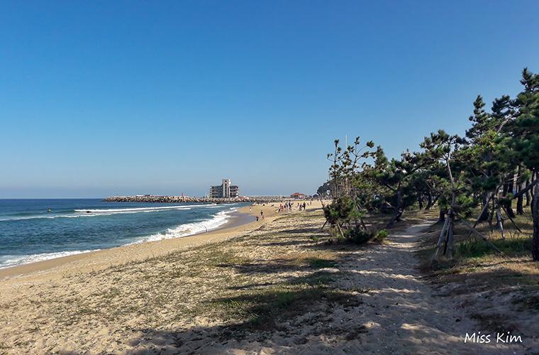 Anmok Beach à Gangneung