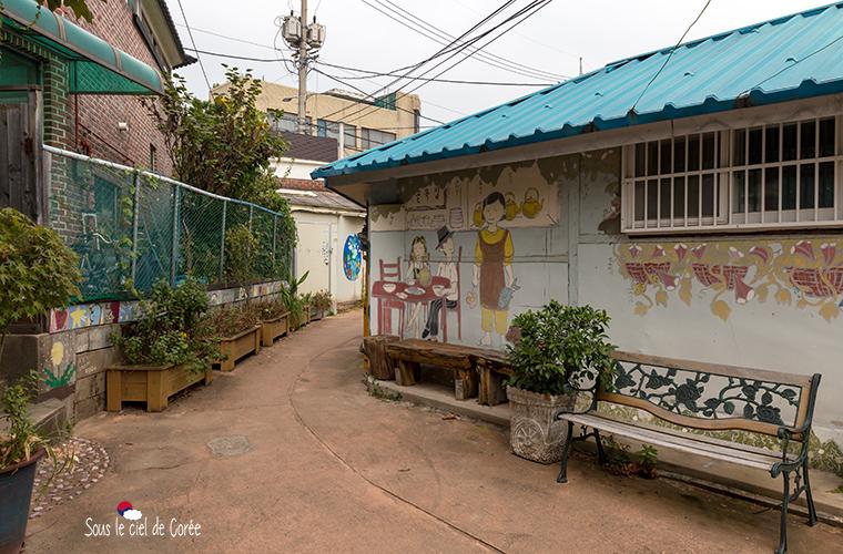 Suwon Haenggung-dong mural village