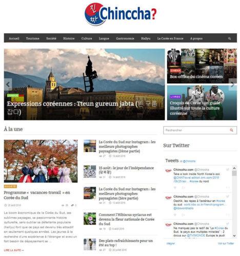 homepage chinccha en 2016