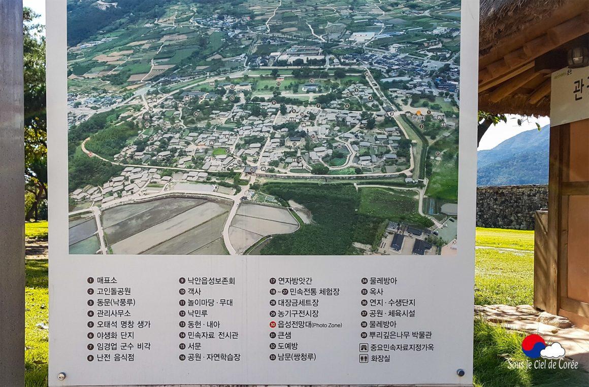 Plan général de Naganeupseong