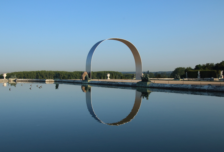 Lee Ufan - L'Arche de Versailles
