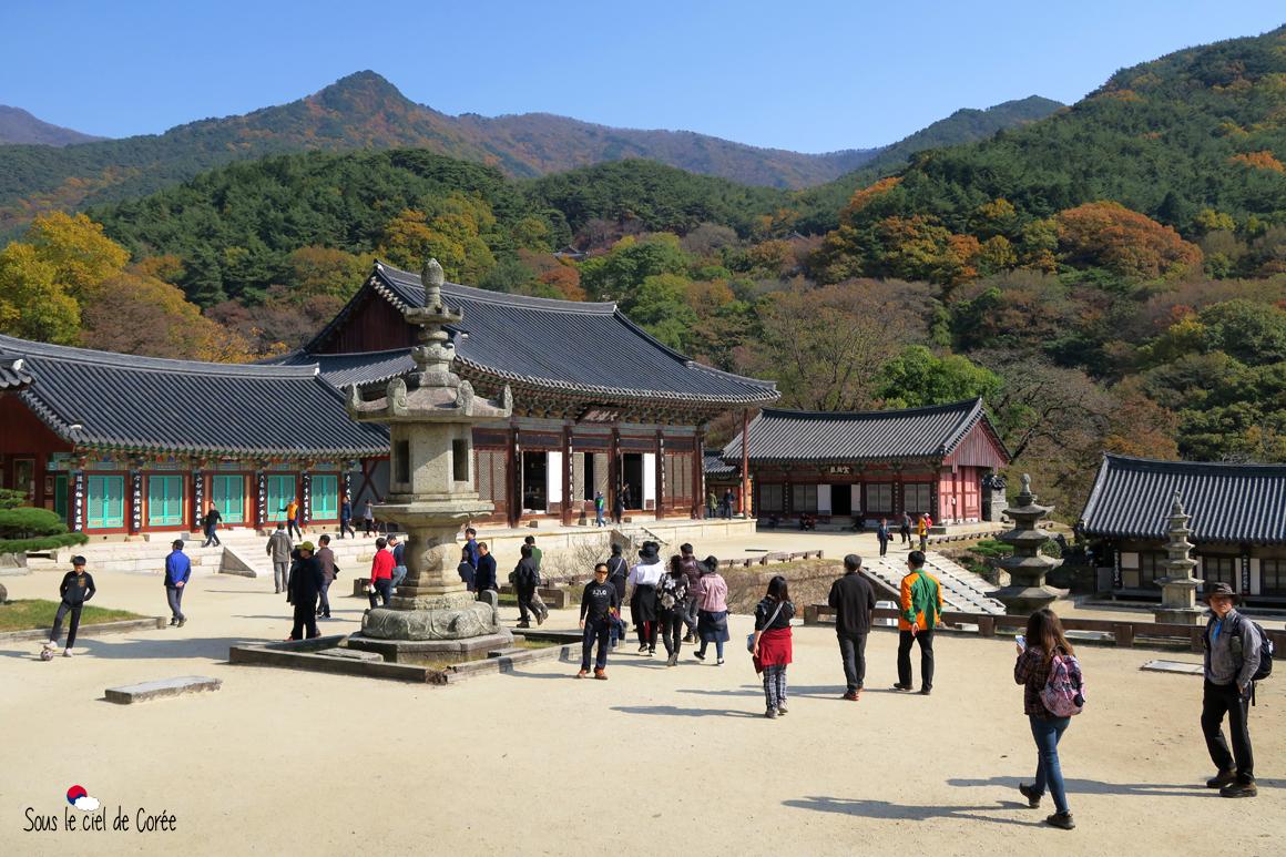pavillon Daeungjeon temple Hwaeomsa