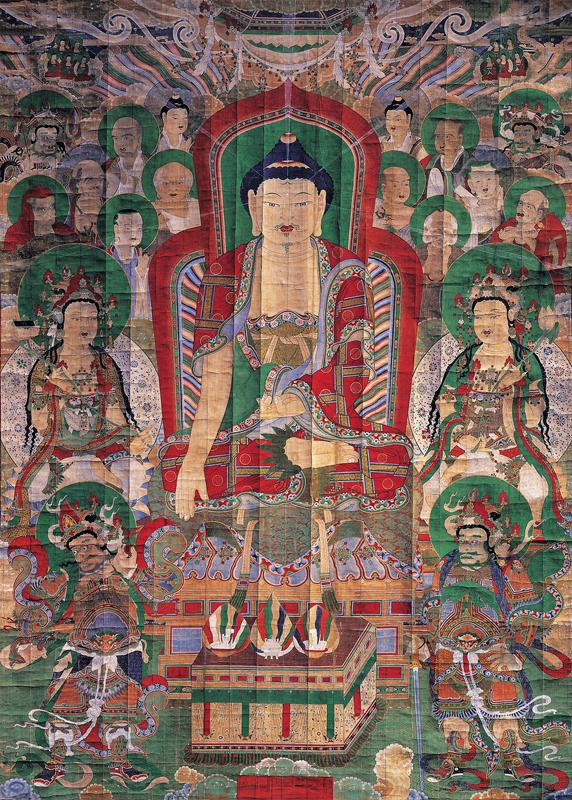 Shakyamuni painting Hwaeomsa temple