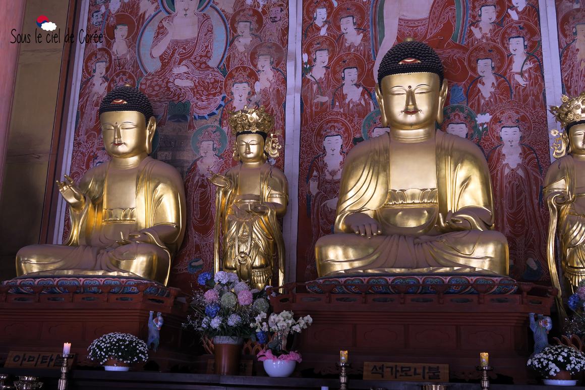statue Buddha Hwaeomsa