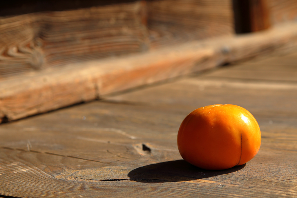 kaki fruit automne corée du sud