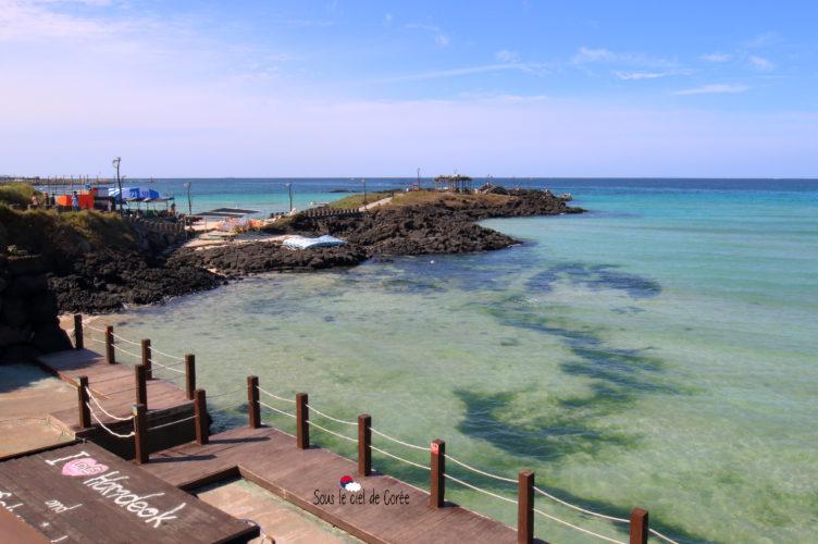 cafe delmoondo terrasse plage hamdeok beach