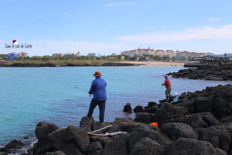 pêche plage hamdeok beach