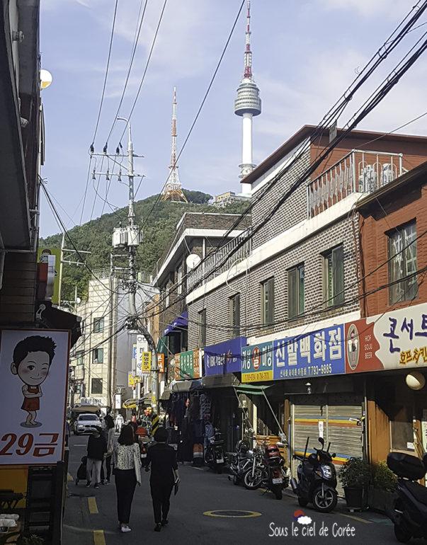 haebangchon seoul namsan
