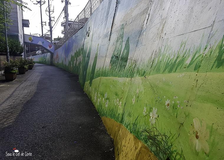haebangchon peinture murale