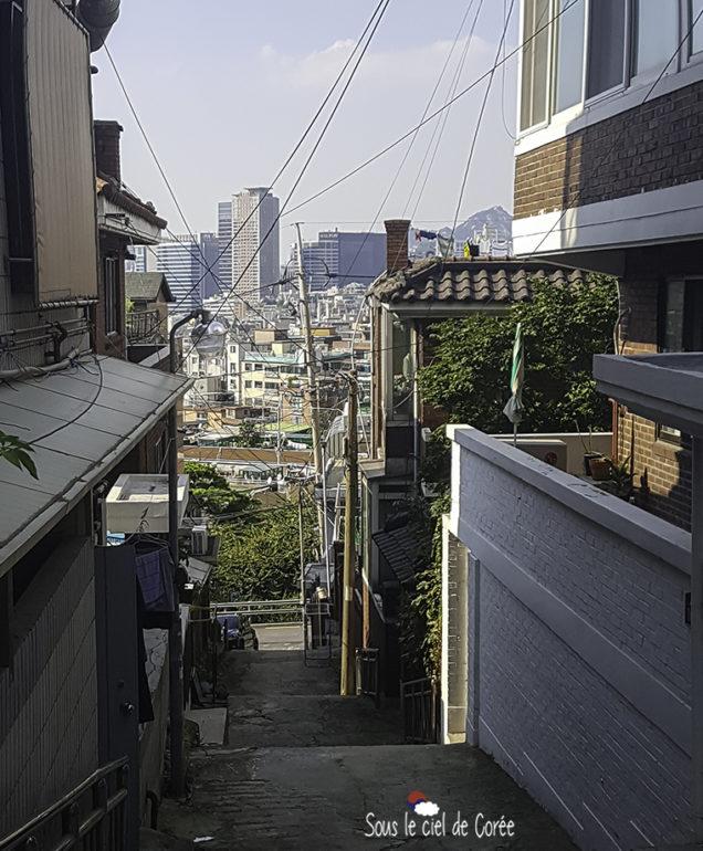 ruelle dans haebangchon