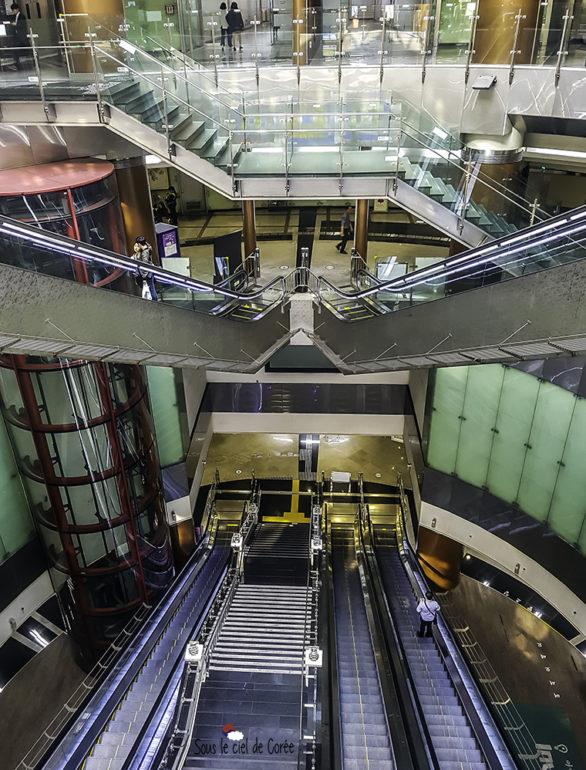 architecture station noksapyeong