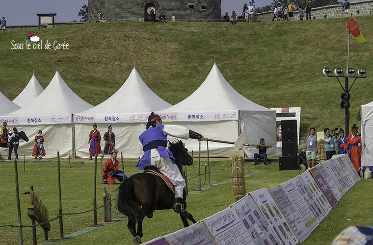 Archerie au festival de Suwon