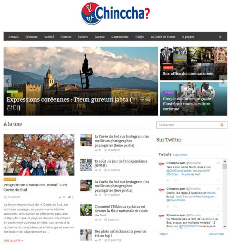 homepage chinccha en 2016