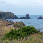 Seopjikoji île de Jeju panorama