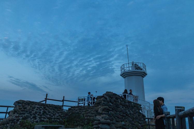Seopjikoji île de Jeju phare