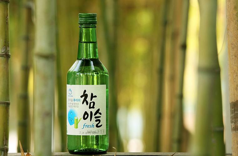 Bouteille de soju