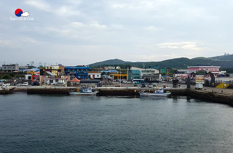 Le port de Udo