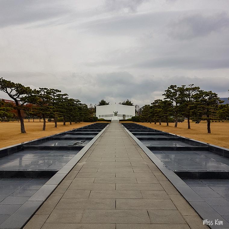 Cimetière du Mémorial des Nations Unies à Busan