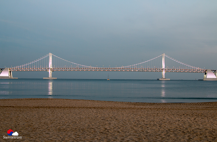 Pont Gwangandaekyo à Gwangalli, Busan