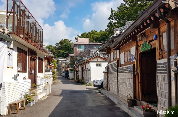 Hanok du quartier de Wonseo-dong à Bukchon-Séoul