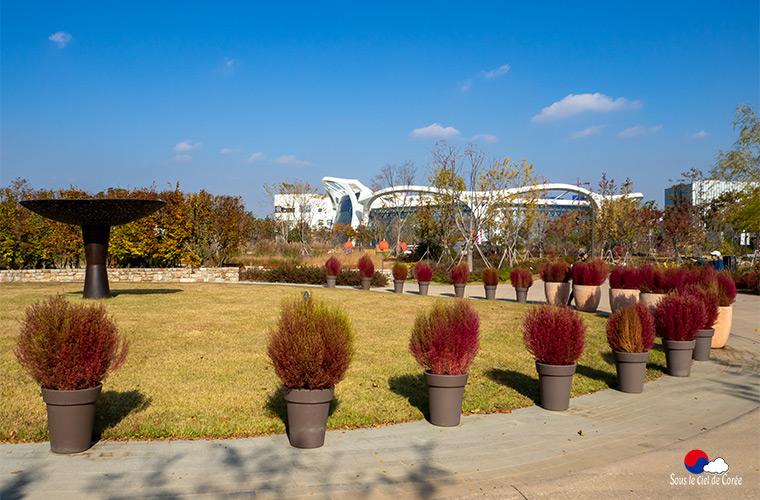 Parc botanique de Séoul automne 2019