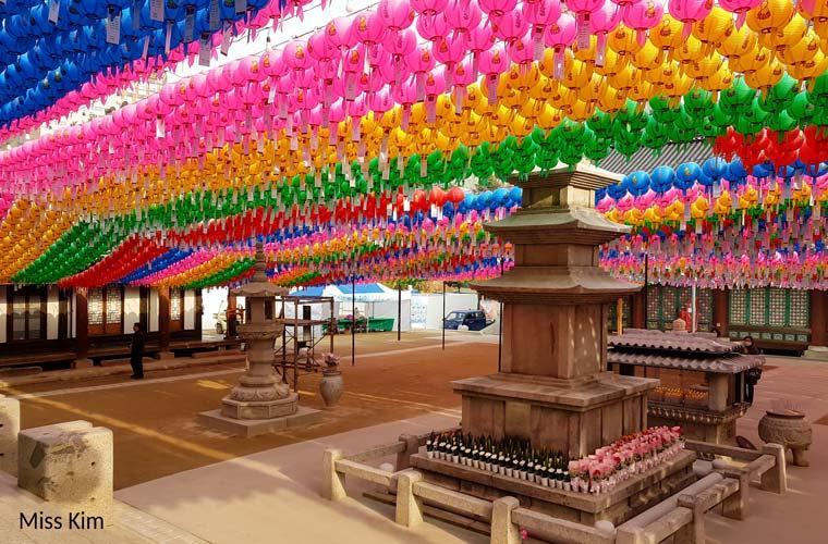 Temple Bongeunsa, Séoul, Corée du Sud