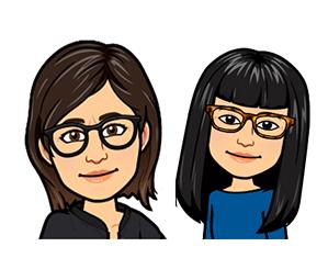Myu-Ri et Miss Kim
