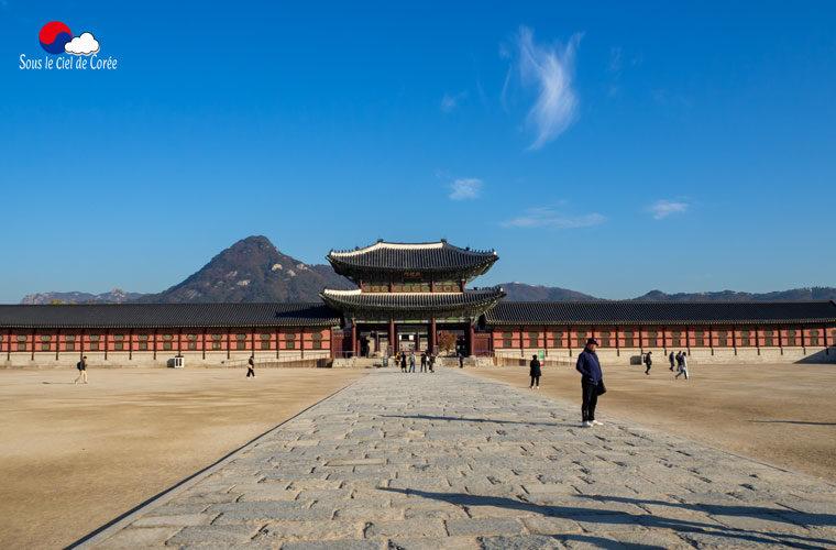 Le palais Gyeongbokgung à Séoul
