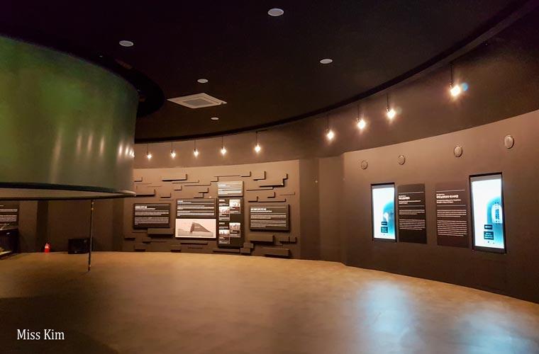 Musée des tombes de Neugsan-ri à Buyeo en Corée du Sud