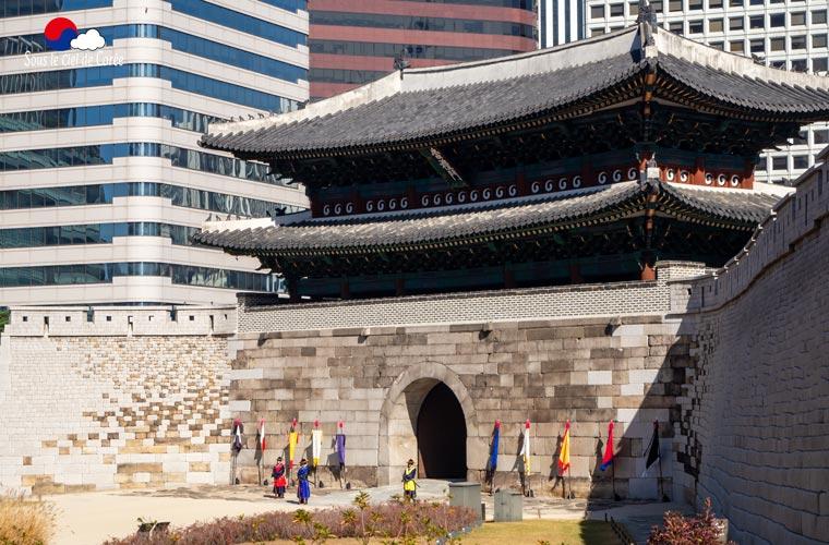 La porte de Namdaemun