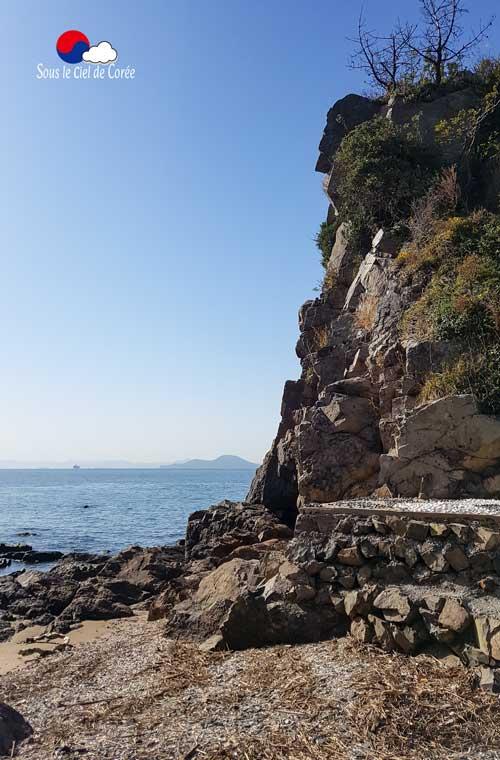 Morundae, plage de Dadaepo à Busan