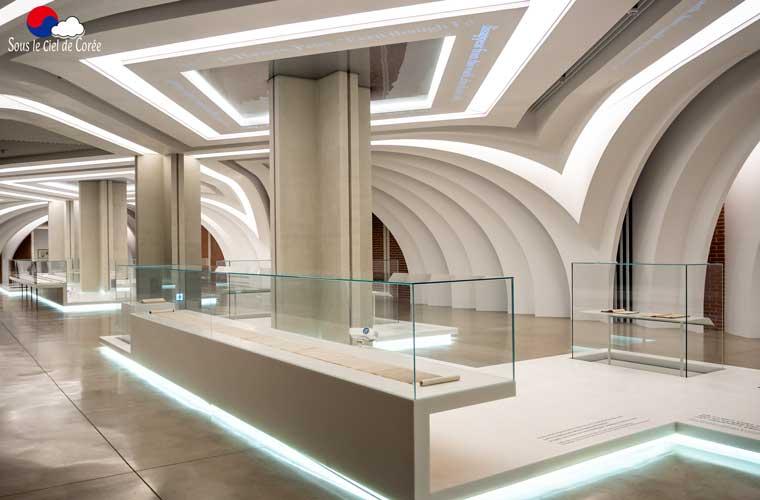 Hall permanent du Musée d'histoire du sanctuaire Seosomun