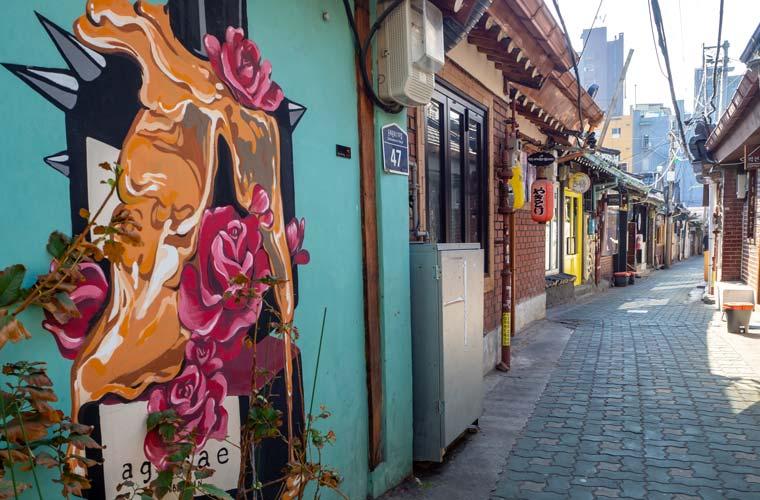 Quartier d'Ikseon-dong à Séoul
