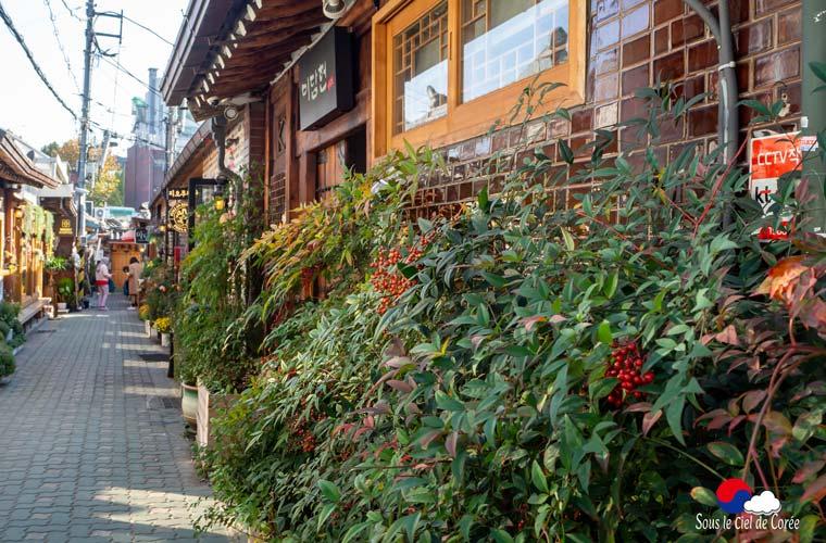 Une allée du quartier d'Ikseon-dong à Séoul.
