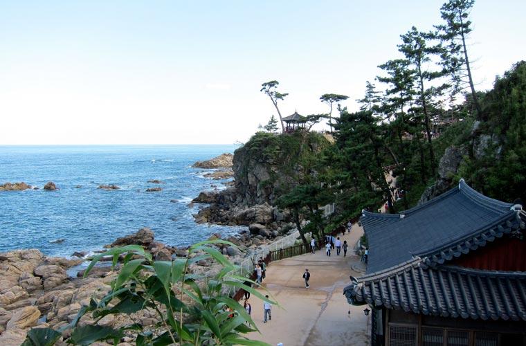 temple naksansa en Corée du Sud