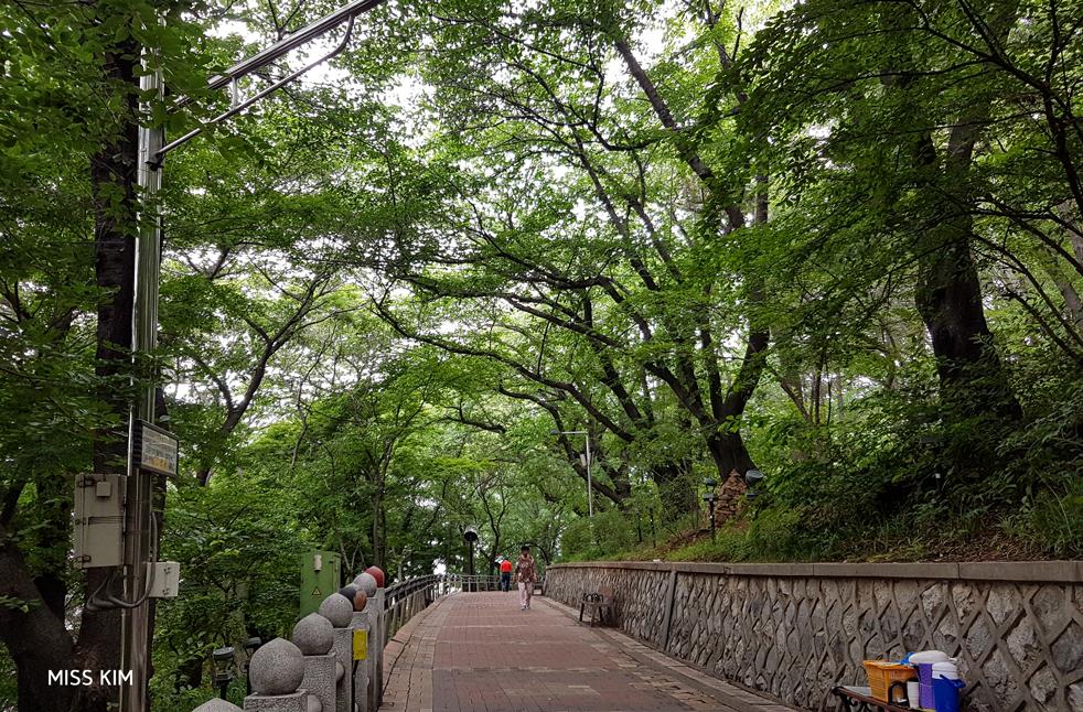 Parc Jayu à Incheon, en Corée du Sud