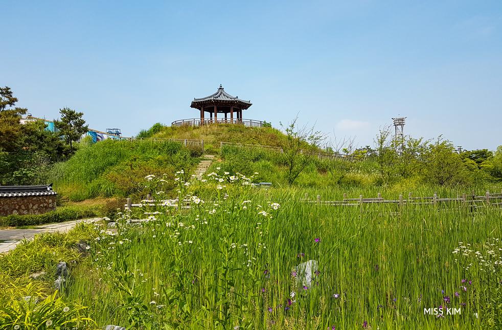 Parc Wolmi à Incheon en Corée du Sud