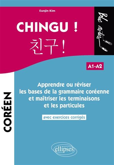 Couverture du manuel de langue Chingu chez Ellipses