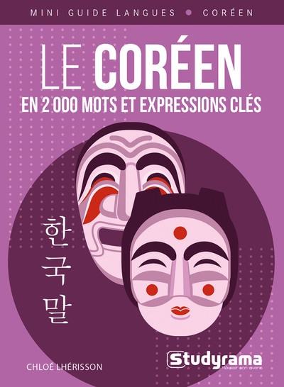 Couverture du livre Le Coréen en 200 mots et expressions