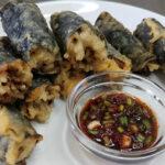 recette de gimmari, rouleaux d'algues frits coréens